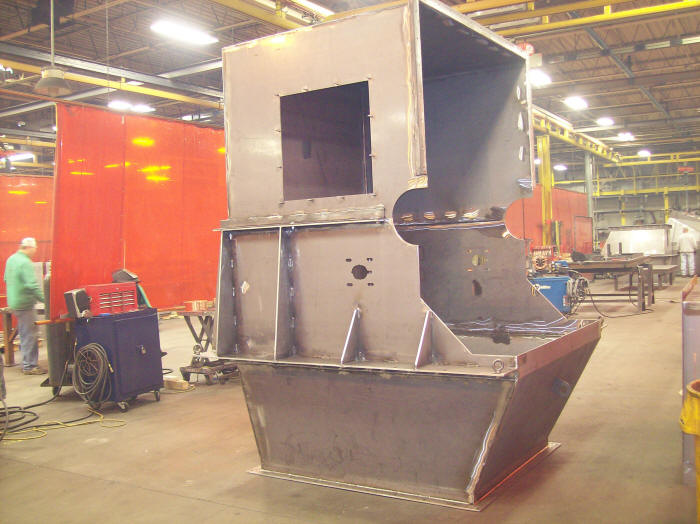 Specialty Welding Amp Fabricating Chute And Hopper Projects
